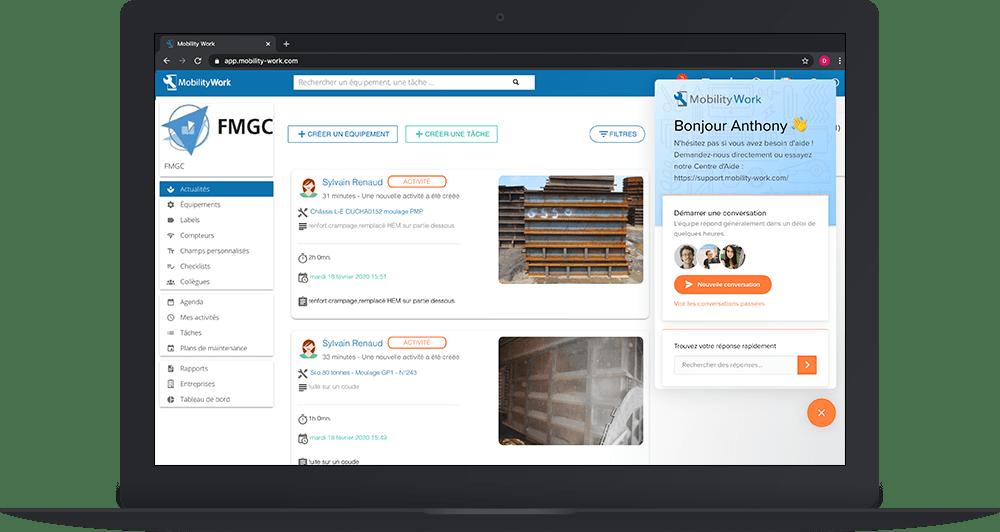Comment contacter le support client de son logiciel de GMAO