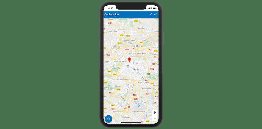 Géolocaliser ses équipements depuis la GMAO mobile