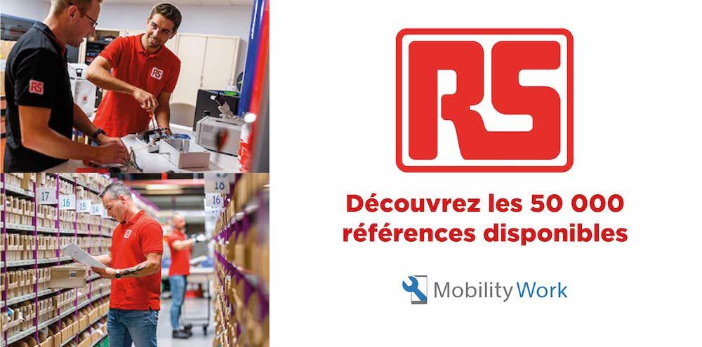 RS Components rejoint le Catalogue Officiel de la GMAO