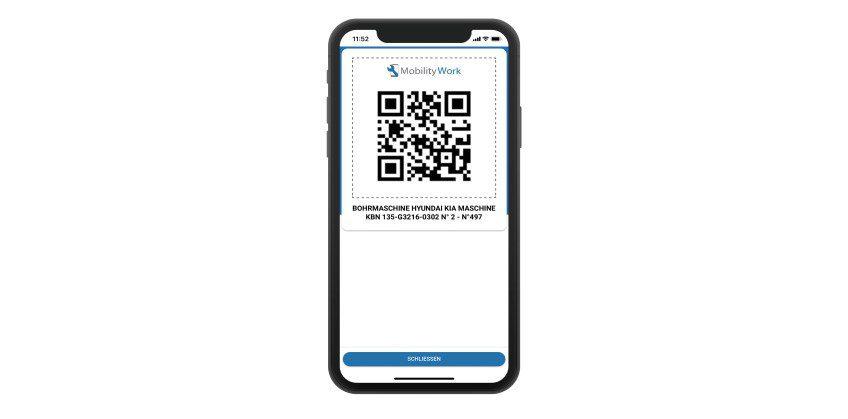 QR-Codes in Ihrem mobilen IPS-System verwenden