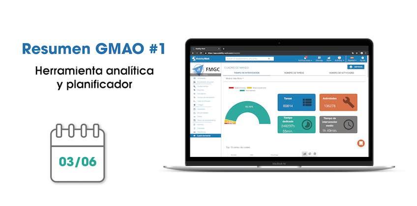Novedades GMAO: herramienta analítica y planificador | Mayo 2019