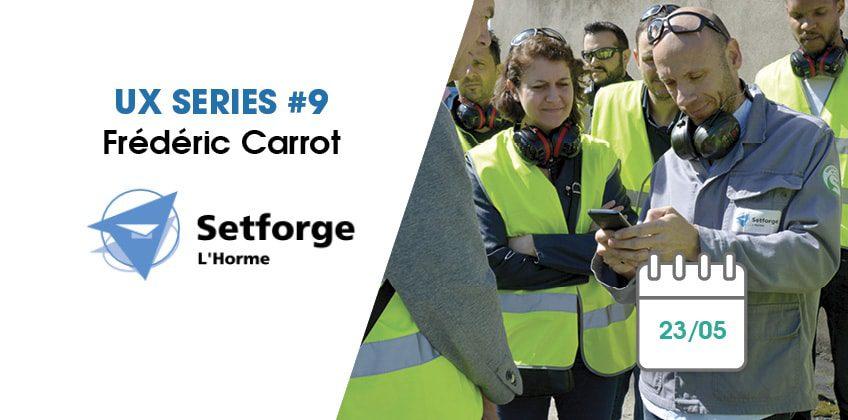 GMAO móvil: Mobility Work en Setforge L'Horme