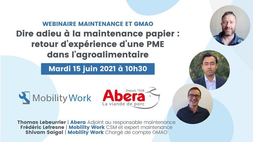 Mobility Work présente son 1er webinaire le 15 juin !