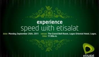 ETISALATETISALAT NIGERIA 3G LAUNCH-NIGERIA-3G-LAUNCH