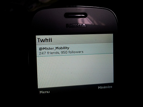 Review: Twhii, A 3rd party Twitter app for Java phones - landing page