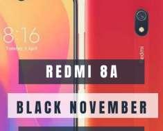 Redmi 8a Black November super deal