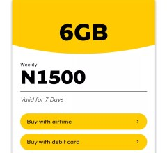 mtn weekly jolly data plan 6gb for n1500