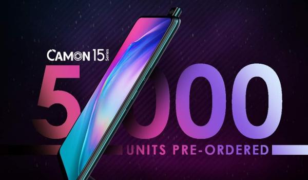 TeCNO Camon 15 pre-order