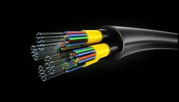 right of way fibre optic cables