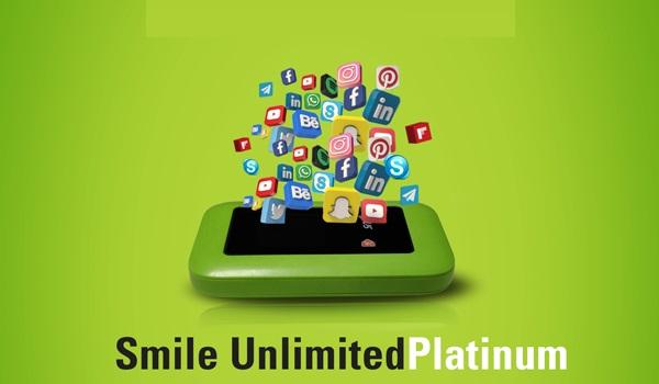 smile unlimited platinum data plan