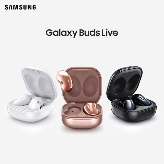Samsung Galaxy Buds Live in carry cases