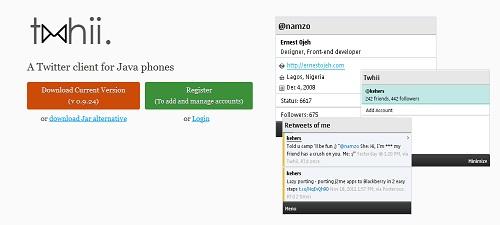 twhii web application