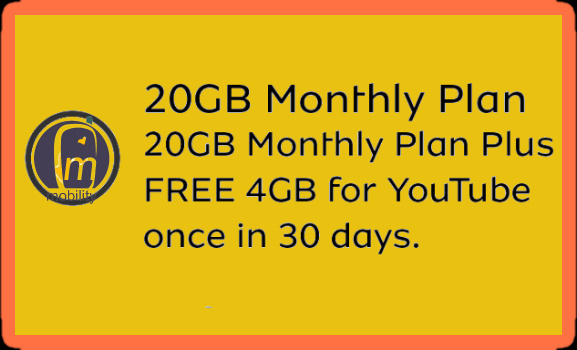 MTN 20gb for 5000 naira data plan