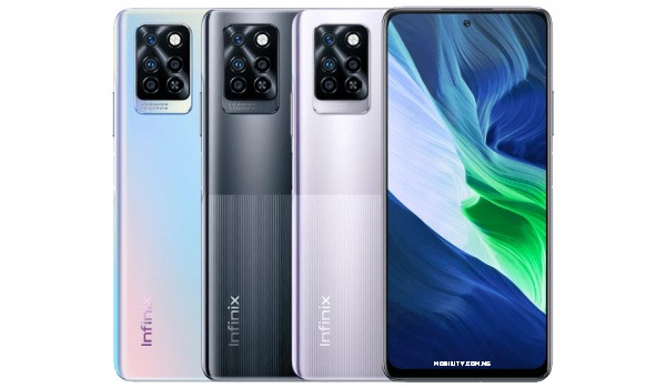 Infinix Note 10 Pro front and back specs and price