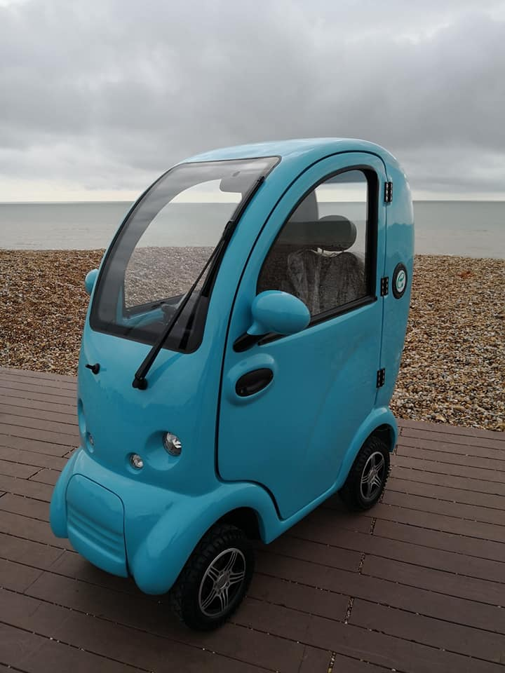 Scooterpac Cabin Car Mk 2 Mobility Scooter Road Legal