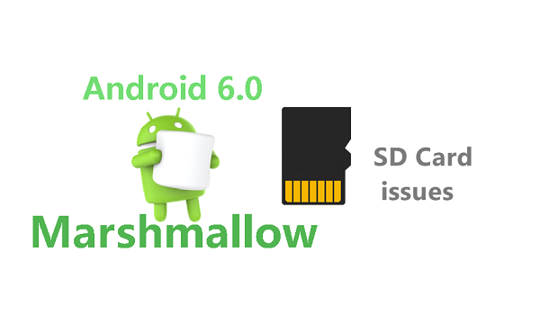 Android Marshmallow SD card