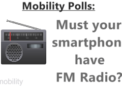 Poll : Must your smartphone have an FM Radio? 26