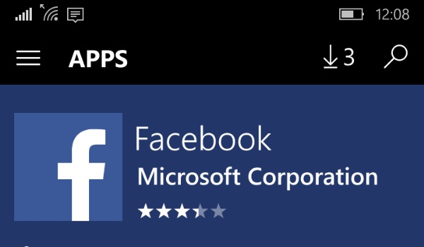 Facebook for Windows 10 Mobile gets new design and other