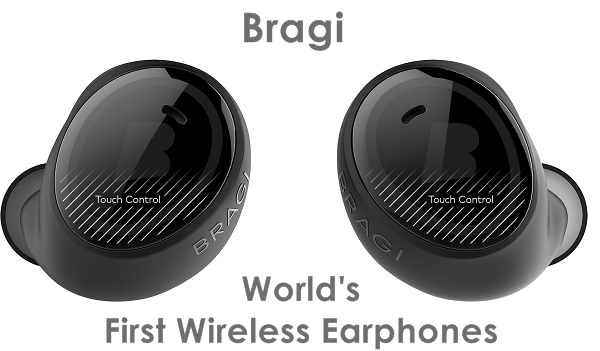 Take a good look at the world's first truly wireless earphones 8