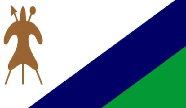 Lesotho flag 1