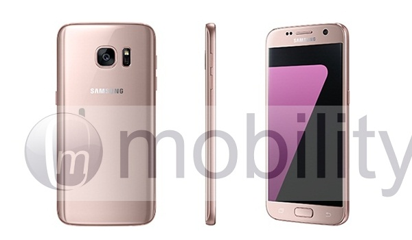"""The Samsung Galaxy S7/S7 Edge comes in """"Pink Gold"""" too. 13"""