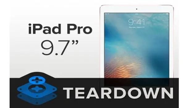 iPad Pro tear down