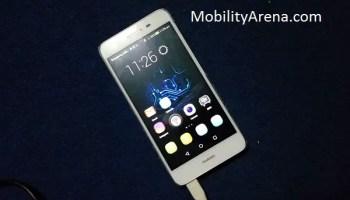 Huawei GR3 homescreen
