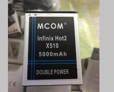 Did you know? There's a 5000mAh battery for the Infinix Hot2 4