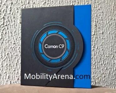 TECNO Camon C9 box