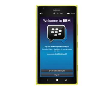 bbm on windows phone