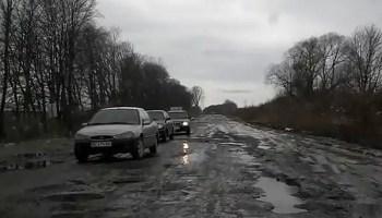 potholes bad roads