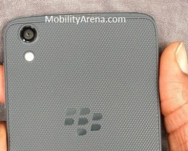 BlackBerry DTEK50 review back
