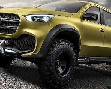 Mercedes-Benz pickup - Concept X-CLASS