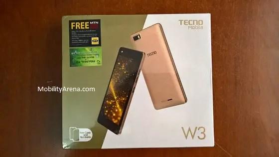 TECNO W3 unboxing