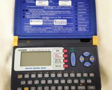 Casio JD-6000 Secret Sender