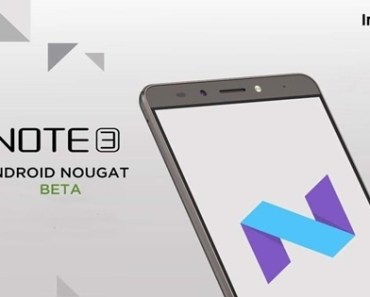 Infinix Note 3 Nougat