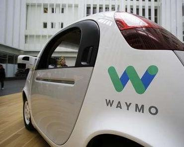 Google Waymo self-driving cars