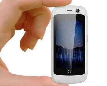 Tinuku Unihertz Jelly smallest 4G LTE smartphone