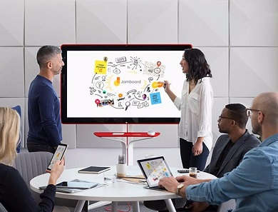google jamboard giant tablet