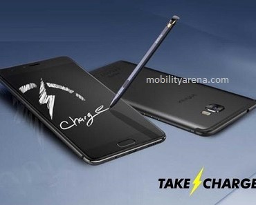 Infinix Note 4 with stylus