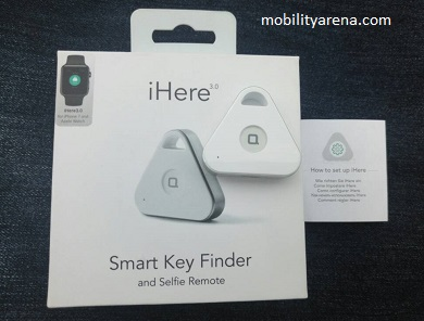 iHere Smart Key Finder review 1