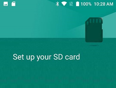 sd card apps not installed - install apps in memory card