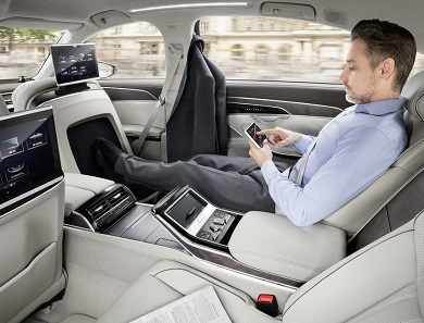 Ride In Style: Audi A8 oozes class and power 15