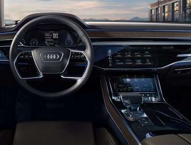 Ride In Style: Audi A8 oozes class and power 13