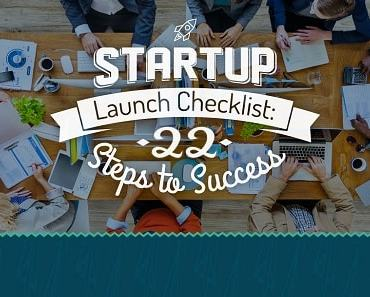 startup launch checklist feature