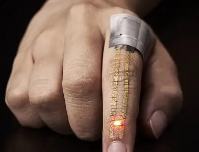 wearable electronic skin nanomesh
