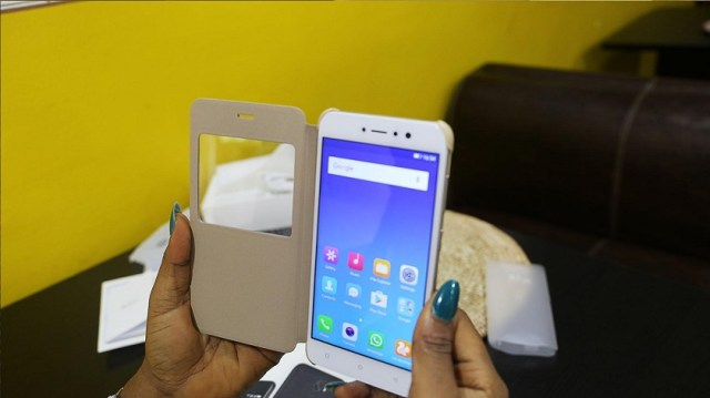 Gionee A1 Lite unboxing 1 homescreen