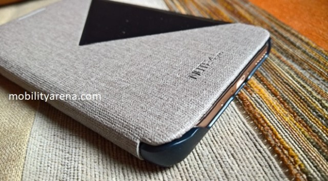 Infinix Note 4 Pro smart cover closed