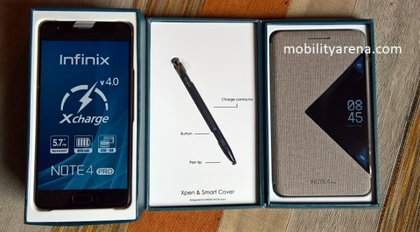 Infinix Note 4 Pro first impressions 3 items