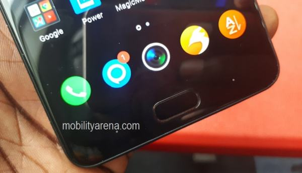 Infinix Note 4 review fingerprint home button